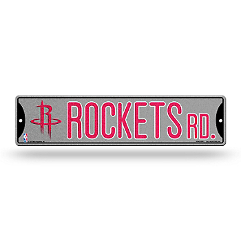 Houston Rockets Bling Street Sign