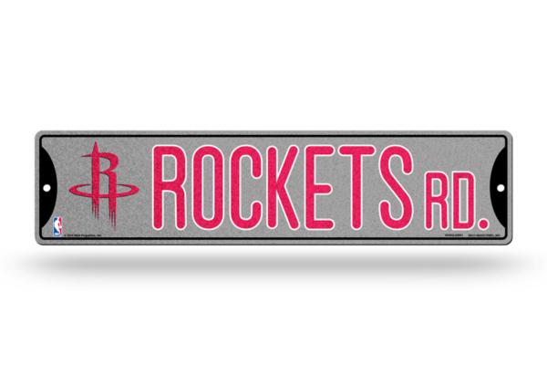 Houston Rockets Bling Street Sign