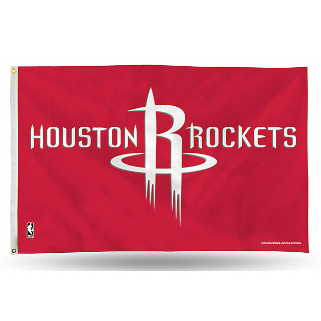 Houston Rockets 3x5 Banner Flag