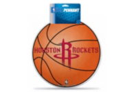 Houston Rockets Die Cut Pennant