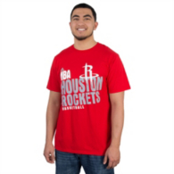 Houston Rockets Adidas Stacked Tee