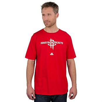 Houston Rockets Adidas Full Primary Logo Tee