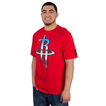 Houston Rockets Adidas Chrome Horizon Tee