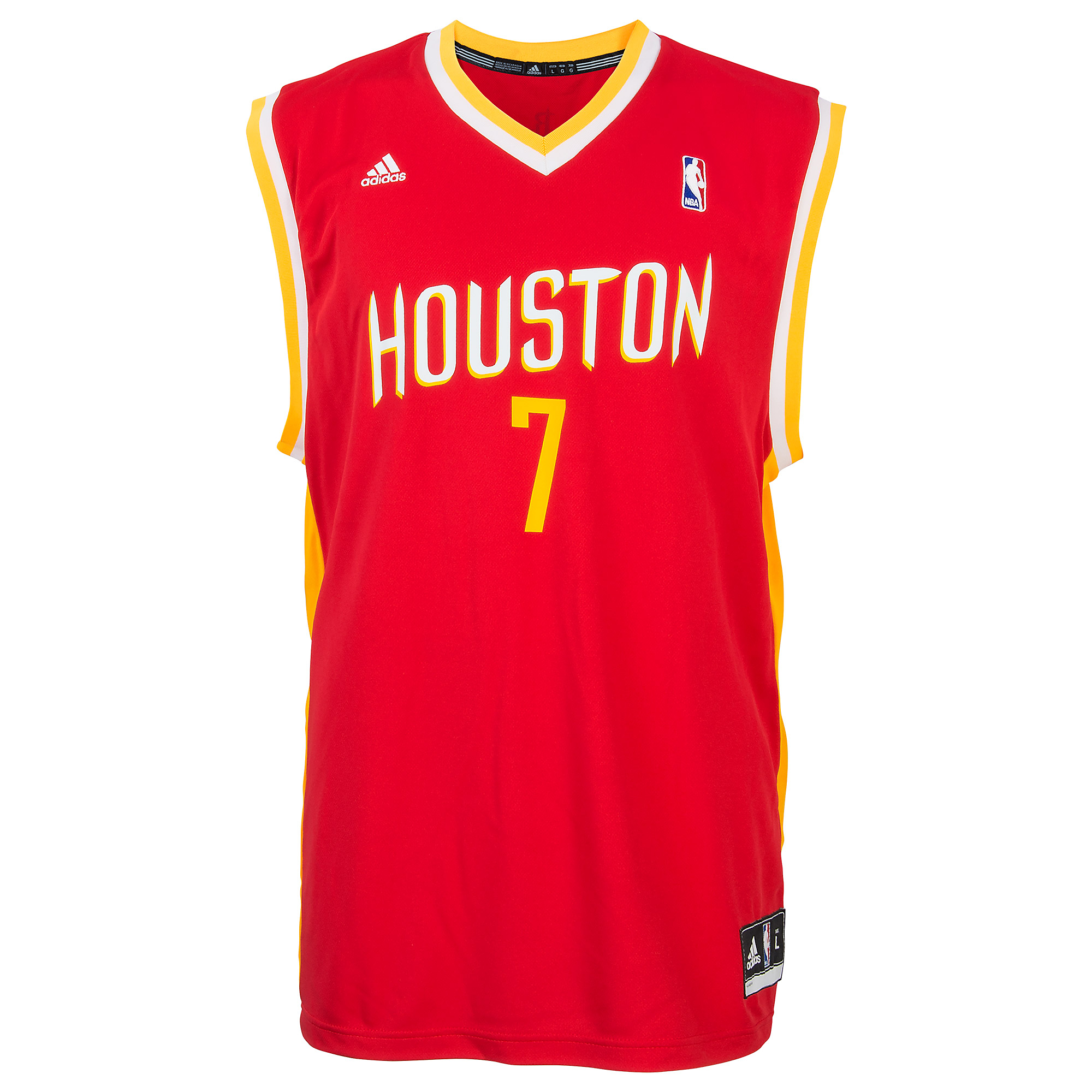official photos fc3e3 3cdcf Houston Rockets Jeremy Lin #7 Adidas Replica Jersey | Fans ...