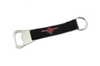 Houston Rockets Bottle Opener Lanyard Keychain