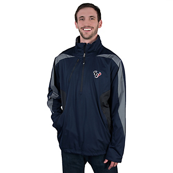 Houston Texans Antigua Discover Pullover