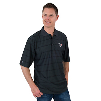 Houston Texans Antigua Tone Smoke Polo