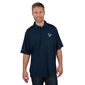 Houston Texans Antigua Pique Xtra Lite Polo