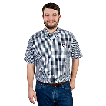 Houston Texans Antigua Scholar Button Down Shirt