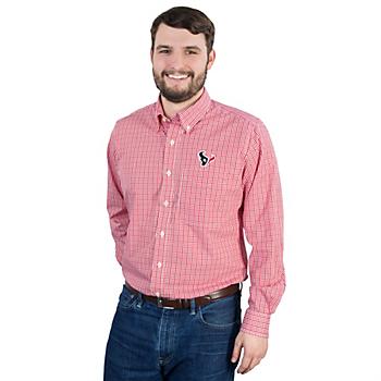 Houston Texans Antigua Monarch Button Down Shirt