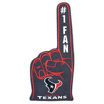 Houston Texans Foam Finger