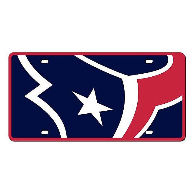 Houston Texans Mega License Plate