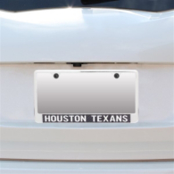 Houston Texans Carbon Fiber License Plate Frame