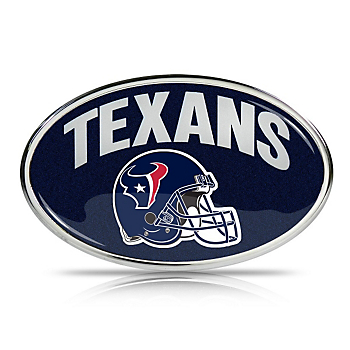 Houston Texans Oval Glitter Emblem