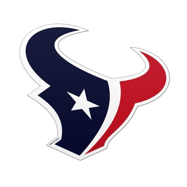 Houston Texans 6x6 Logo Magnet