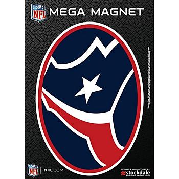 Houston Texans 5x7 Mega Oval Magnet