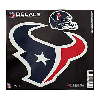Houston Texans 12x12 Logo Decal