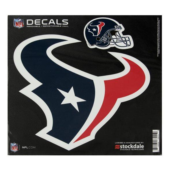 Houston Texans 8x8 Logo Decal
