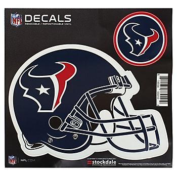Houston Texans 8x8 Helmet Decal