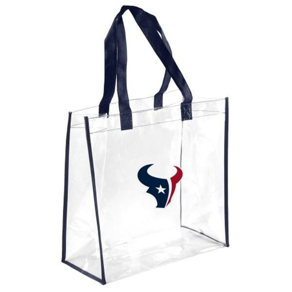 Houston Texans Clear Reusable Bag