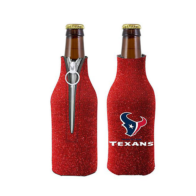 Houston Texans Glitter Bottle Coolie