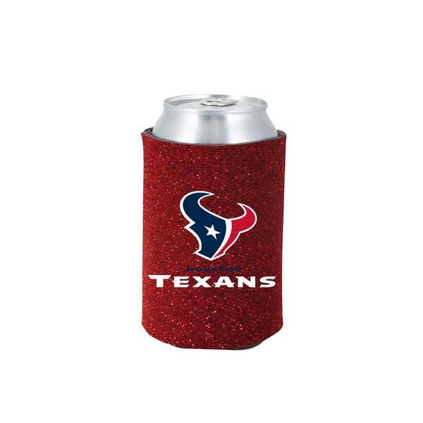 Houston Texans Glitter Can Cooler