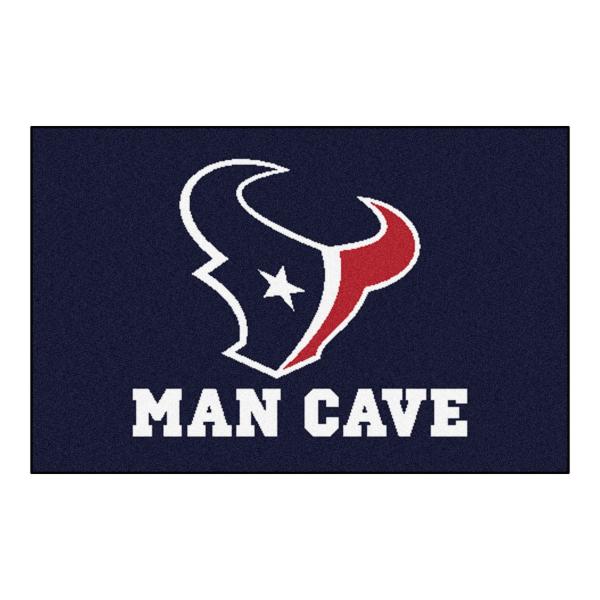 Houston Texans Man Cave Mat