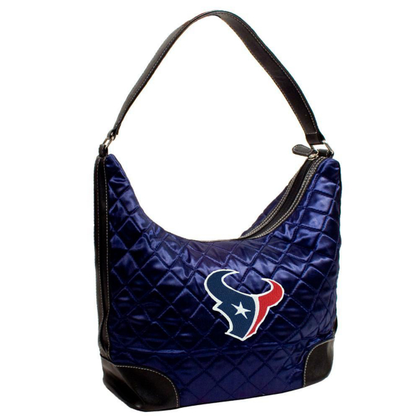Houston Texans Quilted Hobo Bag