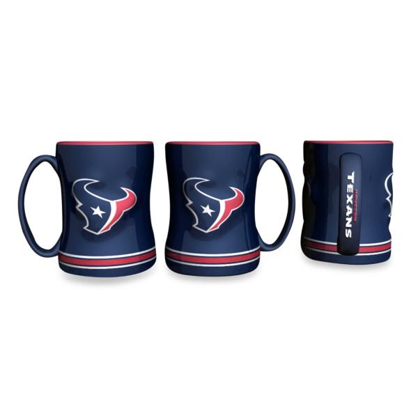 Houston Texans Sculpted Relief Mug