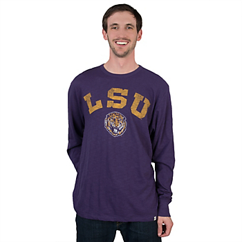 LSU Tigers 47 Long Sleeve Scrum Tee