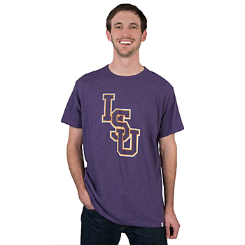 LSU Tigers 47 Basic Scrum Tee