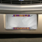 LSU Tigers Domed Insert License Plate Frame