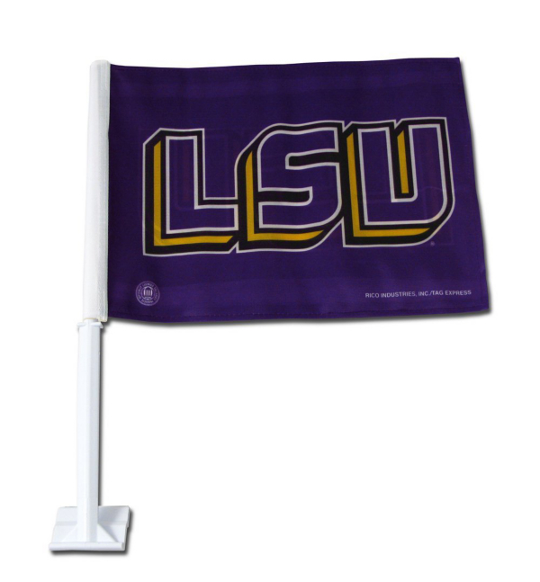 LSU Tigers Car Flag
