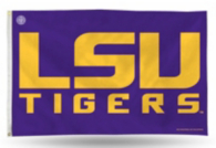LSU Tigers 3x5 Banner Flag