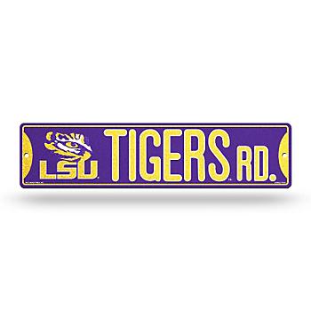 LSU Tigers Bling Street Sign