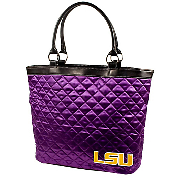 LSU Tigers Quilted Tote