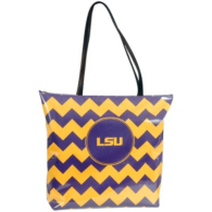LSU Tigers Chevron Shopper Tote