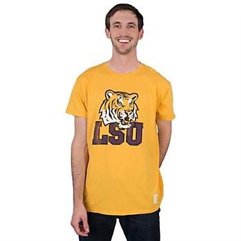LSU Tigers Retro Vintage Crew
