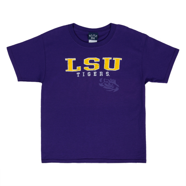 LSU Tigers Blue 84 Youth Tee