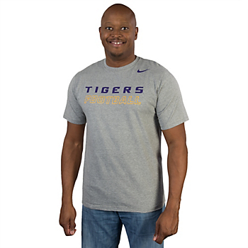 LSU Tigers Nike Cotton Training Day Tee