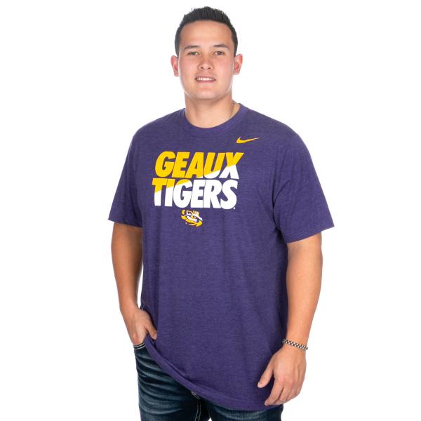 LSU Tigers Nike Local Triblend Tee