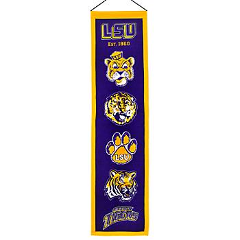 LSU Tigers Heritage Banner