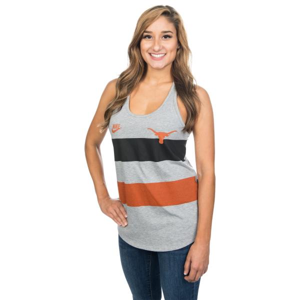 Texas Longhorns Nike Womens Team Stripe Tank