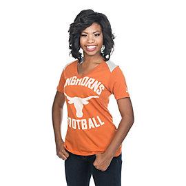 Texas Longhorns Nike Womens Football Top