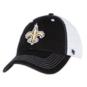 New Orleans Saints 47 Black/White Cap