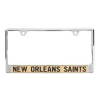 New Orleans Saints Mirror License Plate Frame