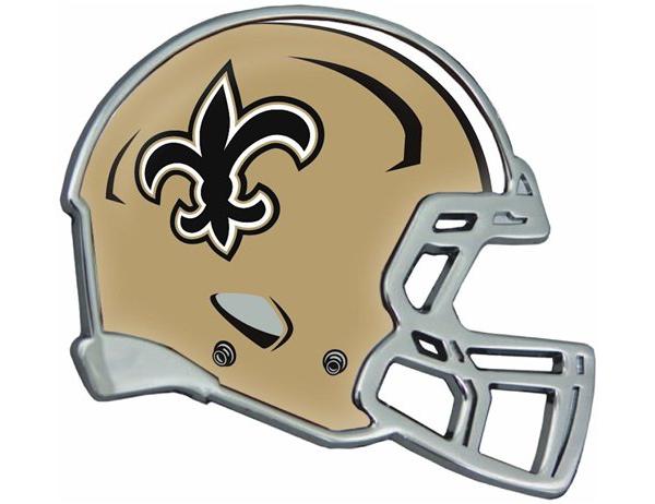 New Orleans Saints Helmet Emblem