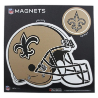 New Orleans Saints 12x12 Helmet Magnet