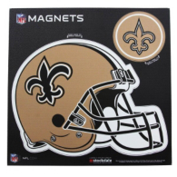 New Orleans Saints 8x8 Helmet Magnet