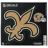 New Orleans Saints 8x8 Logo Decal